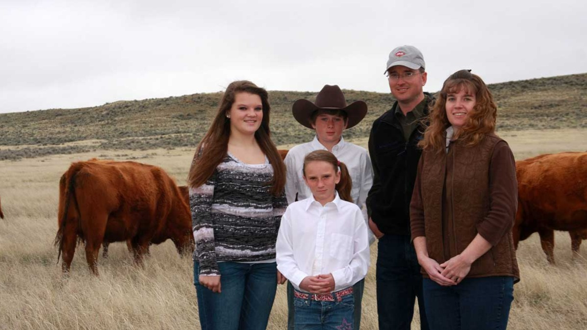 Wyoming Ranching Family, the Fieldgroves