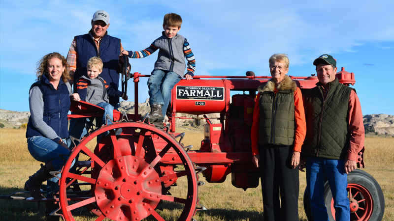Wyoming Ranching Family, the Thaler Family
