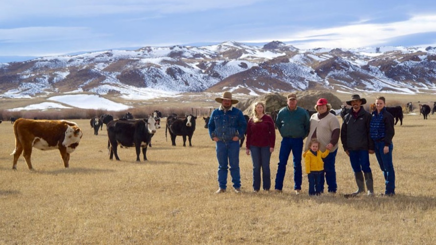 Wyoming Ranching Family, the Farthings
